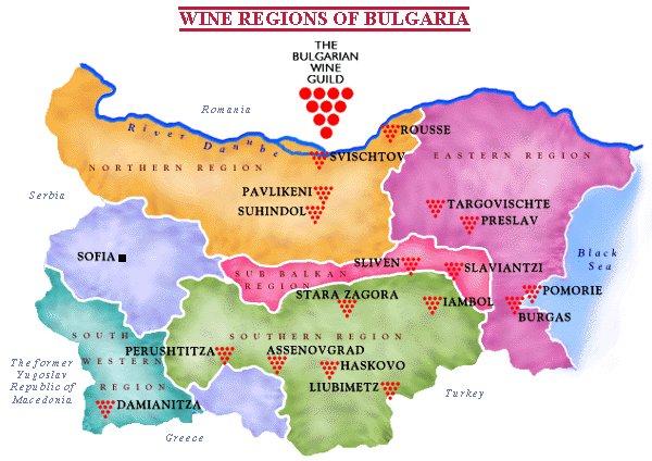 Vino bulharsko