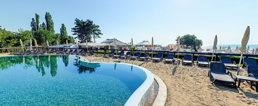Zlaté Piesky Bulharsko hotel