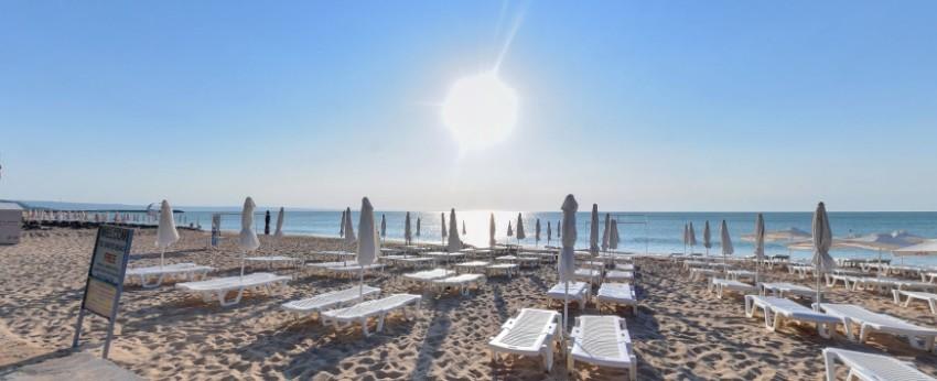 Zlaté Piesky Bulharsko na pláži
