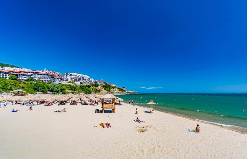 Sveti Vlas Bulharsko pláž